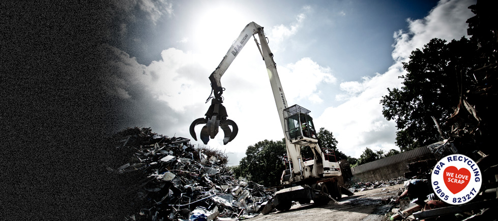 ferrous scrap metal recycling
